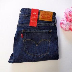 Levi's 711 Skinny Jeans Size 29 Long